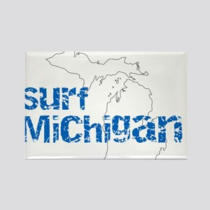 Surf Michigan Ripped Magnets