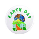 """Earth Day Home 3.5"""" Button"""