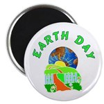 """Earth Day Home 2.25"""" Magnet (100 pack)"""