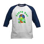 Earth Day Home Kids Baseball Jersey