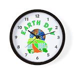 Earth Day Home Wall Clock