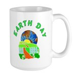 Earth Day Home Large Mug