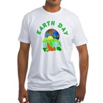 Earth Day Home Fitted T-Shirt