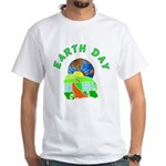Earth Day Home White T-Shirt