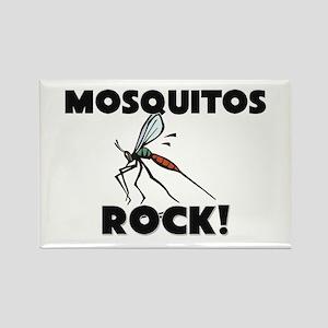 Mosquitos Rock! Rectangle Magnet