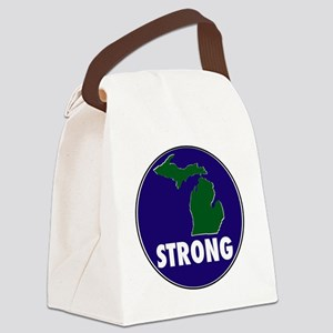 Michigan Strong Canvas Lunch Bag