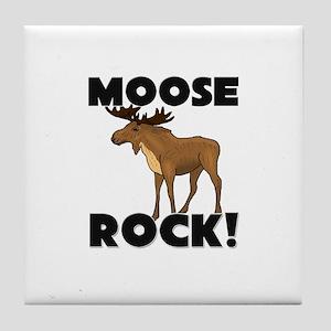Moose Rock! Tile Coaster