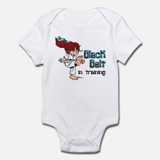 Black Belt in Training Infant Bodysuit