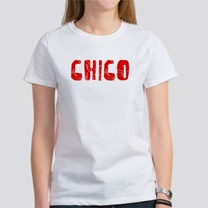 Chico Faded (Red) Women's T-Shirt