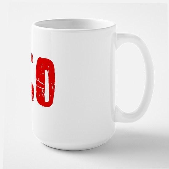 Chico Faded (Red) Large Mug