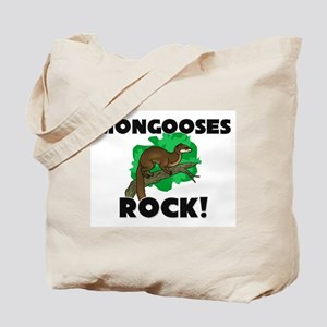 Mongooses Rock! Tote Bag