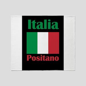Positano Italy Throw Blanket
