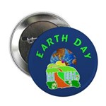 """Earth Day Home 2.25"""" Button (10 pack)"""