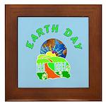 Earth Day Home Framed Tile