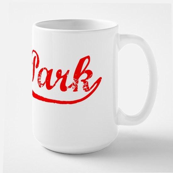 Vintage Oak Park (Red) Large Mug