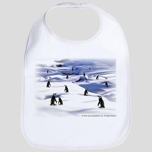 Penguin Scene Bib