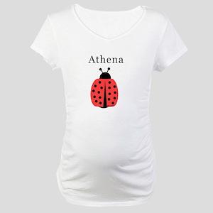 Athena - Ladybug Maternity T-Shirt