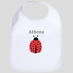 Athena - Ladybug Bib