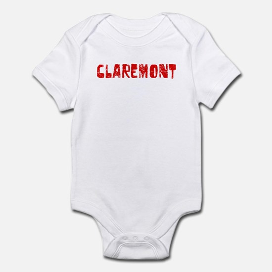 Claremont Faded (Red) Infant Bodysuit