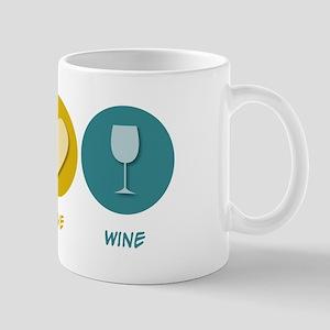 Peace Love Wine Mug