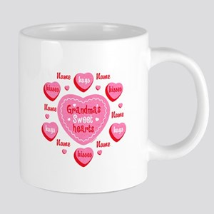 Grandma's Sweethearts Personalized Mugs