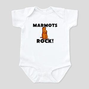 Marmots Rock! Infant Bodysuit