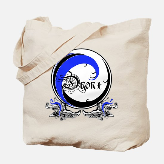 DYONX BLUE WAVE: Tote Bag