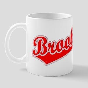 Retro Brookings (Red) Mug