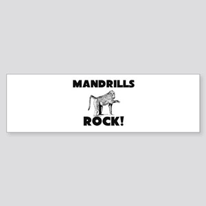 Mandrills Rock! Bumper Sticker