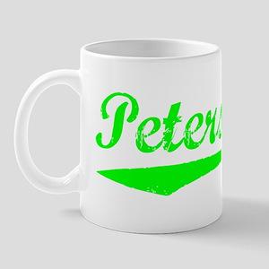 Vintage Petersburg (Green) Mug