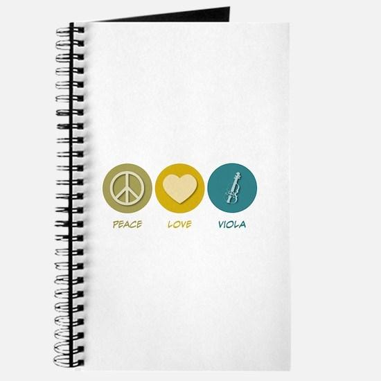 Peace Love Viola Journal