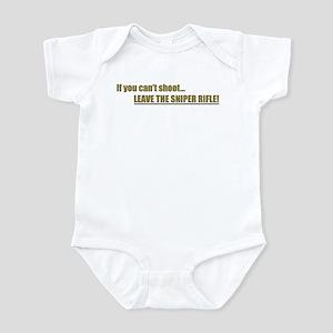 Leave the Sniper Rifle Infant Bodysuit