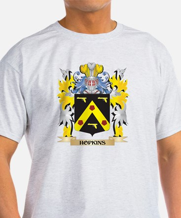 Hopkins Coat of Arms - Family Crest T-Shirt
