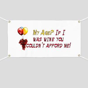 Fine Wine Banner
