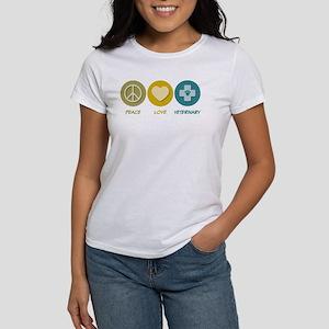 Peace Love Veterinary Women's T-Shirt