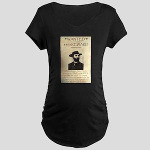 Soapy Smith Maternity Dark T-Shirt