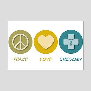 Peace Love Urology Mini Poster Print