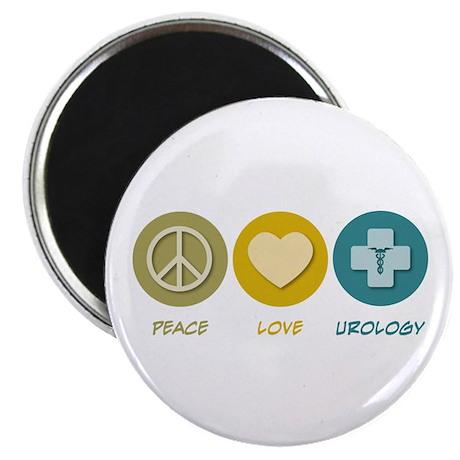 Peace Love Urology Magnet