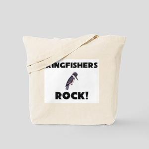 Kingfishers Rock! Tote Bag