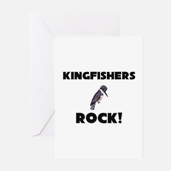 Kingfishers Rock! Greeting Cards (Pk of 10)