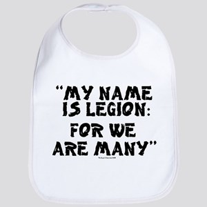 MY NAME IS LEGION - FOR WE ARE MANY Baby Bib