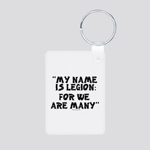 MY NAME IS LEGION - FOR WE ARE Keychains