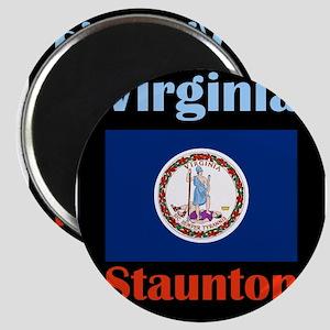 Staunton Virginia Magnets