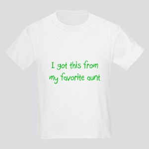 Favorite Aunt Kids Light T-Shirt