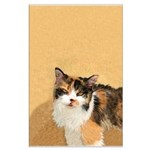 Calico Cat Large Poster