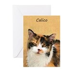 Calico Cat Greeting Cards (Pk of 20)