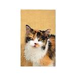 Calico Cat Area Rug