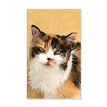 Calico Cat 20x12 Wall Decal