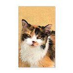 Calico Cat 35x21 Wall Decal