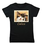 Calico Cat Girl's Tee